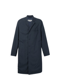 Marni Lightweight Overcoat Blue