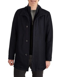 Cole Haan Signature Melton Wool Blend Topcoat