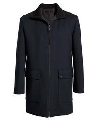 Hugo Meskar Zip Front Coat