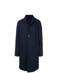 Harris Wharf London Mid Length Single Breasted Coat