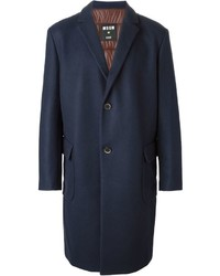 MSGM Padded Back Single Breasted Coat
