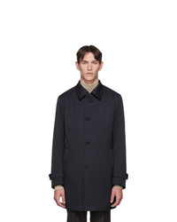 BOSS Navy Padded Dain Coat