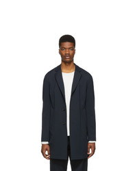 BOSS Navy Shayne J Slim Fit Coat