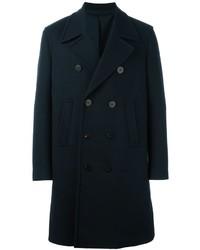 Neil Barrett Double Breasted Overcoat