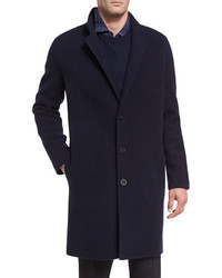 Vince Notch Lapel Single Breasted Coat
