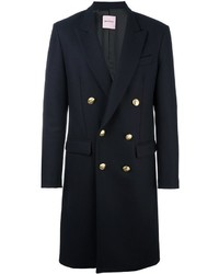 Palm Angels Double Breasted Midi Coat