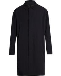 Lanvin Point Collar Wool Overcoat