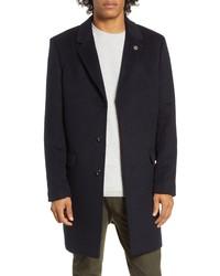 Scotch & Soda Regular Fit Classic Tailored Topcoat