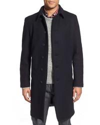 Schott NYC Wool Blend Officers Coat