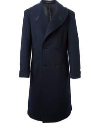 Yohji Yamamoto Shawl Collar Double Breasted Coat
