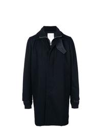 Sacai Single Breasted Coat
