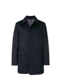 Paolo Pecora Single Breasted Fitted Coat