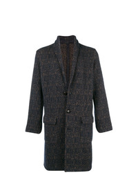 Eleventy Single Breasted Tweed Coat