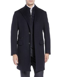 Corneliani Solid Wool Topcoat