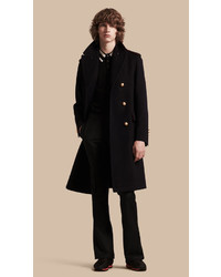 Burberry Technical Wool Military Overcoat