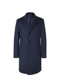 Hugo Boss Wool And Cashmere Blend Coat