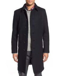 Schott NYC Wool Blend Officers Coat