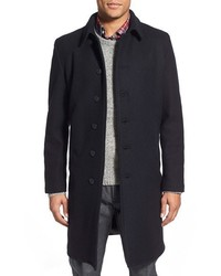 Wool blend officers coat medium 375008
