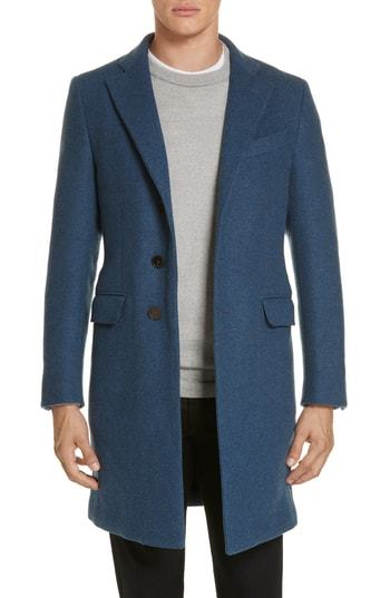 Eidos Wool Cashmere Car Coat