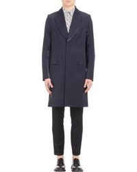 Paul Smith Worsted Top Coat Blue