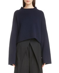 JW Anderson Cable Shoulder Wool Cashmere Sweater