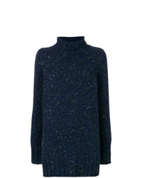 The Row Speckled Mock Neck Jumper