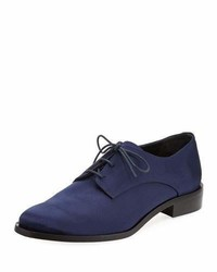 Tibi Carter Satin Lace Up Oxford