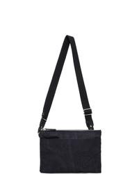 Etro Navy Paisley Messenger Bag