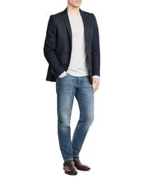 Etro Cotton Blazer With Wool