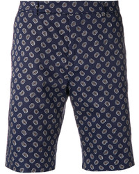 Paul Smith Paisley Print Shorts