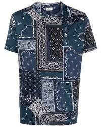 Etro Bandana Print T Shirt