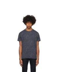 Etro Navy Paisley T Shirt
