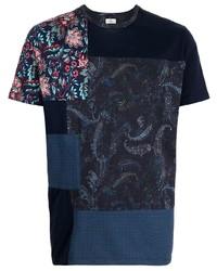 Etro Patchwok Cotton T Shirt