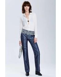 Nasty gal vintage balenciaga badajoz silk trousers medium 129972