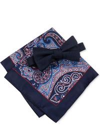 Countess Mara Bradley Bow Tie Paisley Pocket Square Set