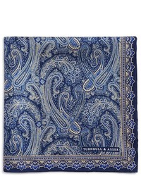 Turnbull & Asser Ornate Paisley Pocket Square
