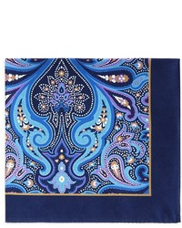 Ted Baker Royal Paisley Pocket Square