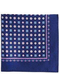 The Store At Bloomingdales Paisley Silk Pocket Square