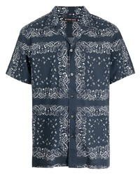 Michael Kors Michl Kors Headline Paisley Print Short Sleeve Shirt