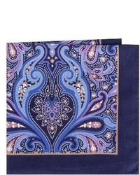Ted Baker London Royal Paisley Silk Pocket Square