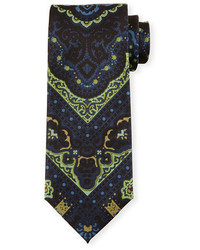 Tom Ford Paisley Print Silk Tie