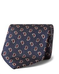 8cm paisley patterned mulberry silk jacquard tie medium 5053644