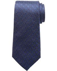 Pointed Paisley Silk Tie