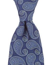 Hart Schaffner Marx Single Paisley Traditional Silk Tie