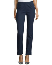 Lela Rose Catherine Slim Leg Ankle Pants