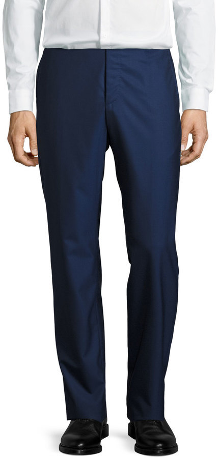 4794a7d5ca6b ... Neiman Marcus › Zanella › Navy Pants Zanella Parker Wool Pants Navy ...