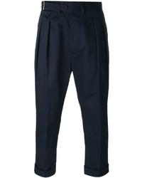 Lardini Pleated Tapered Trousers