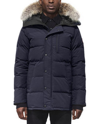 Canada Goose Carson Down Parka With Fur Trim Hood