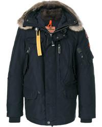 Fur trim hooded parka medium 5205304