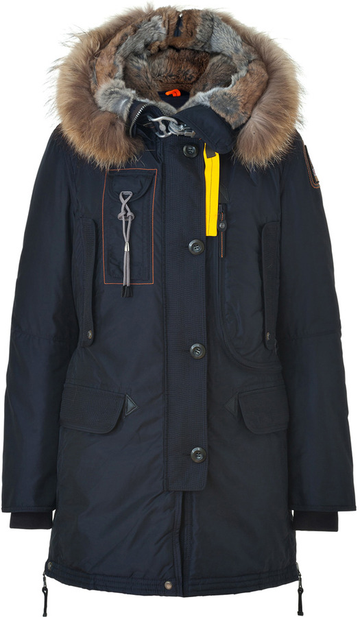 ... Parajumpers Kodiak Down Coat In Navy ...